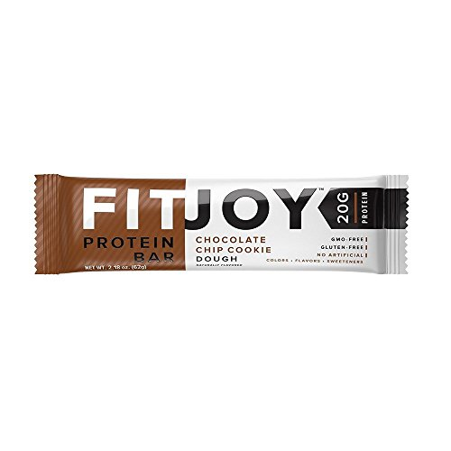 FitJoy Nutrition Protein Bar, 12 Count