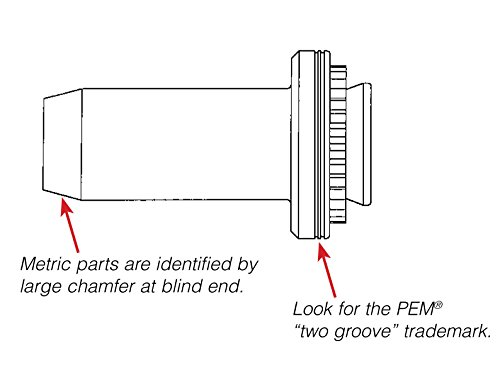 BS Pem Self-Clinching Blind Fasteners BS-832-1 Types B Unified