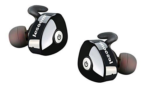 Truly Wireless Earbuds Bluetooth 5.0 Lesoom True Wireless Earbuds in Ear IPX5 Waterproof Sweatproof Noise...
