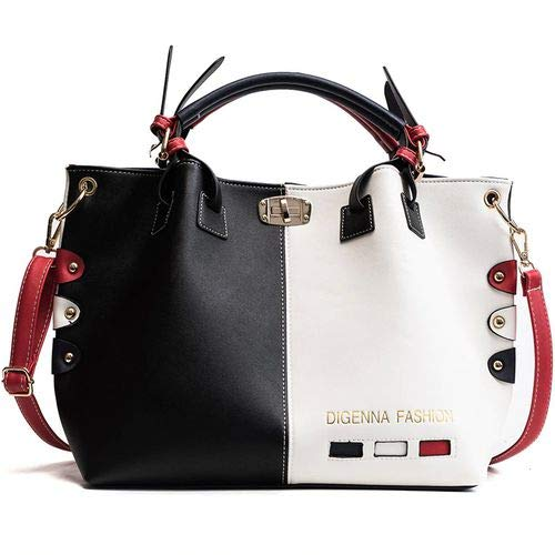 Buy Vio La Luxury Handbags Women Bags Designer Womens Panelled Message Bag Female Leather Crossbody Bag Lock Shoulder Bags For Women At Amazon In