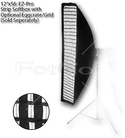 Collapsible Strip Softbox with Speedotron Speedring for Speedotron Black and Brown Line Fotodiox EZ-Pro Strip Softbox 9x36 22x90cm