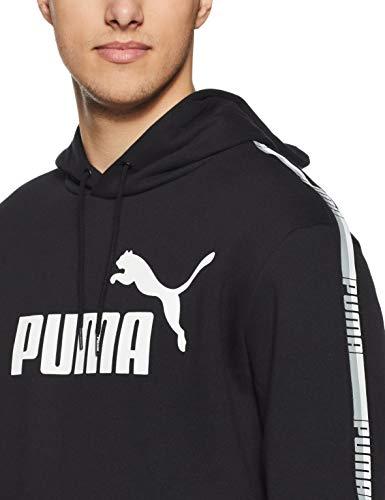 Hoody Black Tape Puma Cotton Hombre Sweatshirt O45YYRx