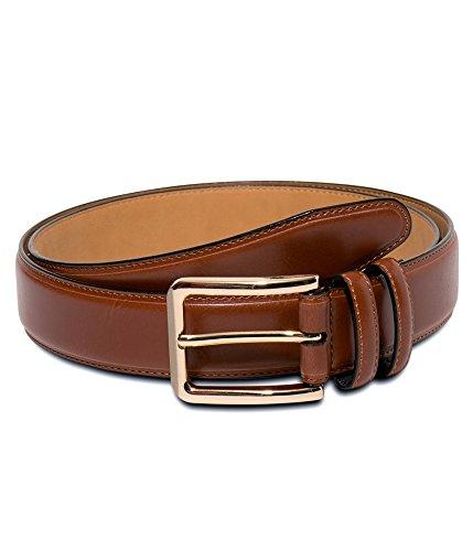 Club Room Mens Coated Belt tan 36 (Club Room Belt)