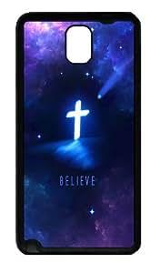 Religious Christian Custom Designer Samsung Galaxy Note 3 / Note III/ N9000 - TPU - Black