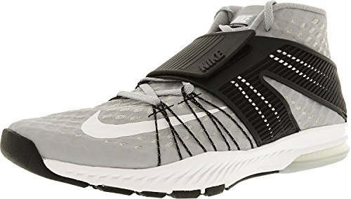 Nike Mens Zoom Treno Toranada Tb Ankle-high Cross Trainer Scarpa Lupo Grigio / Bianco-nero