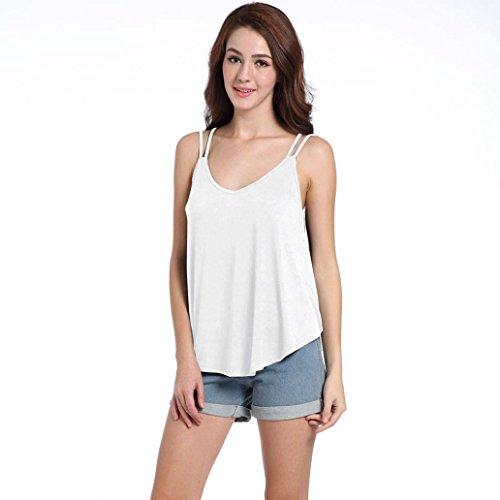 Shirt145 Donna Bianco Multicolore Bekleidung SANFASHION Ballerine Damen SANFASHION Multicolore zPtAWqBF