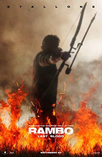 "Rambo: Last Blood - Authentic Original 27"" x 39"" Movie Poster"