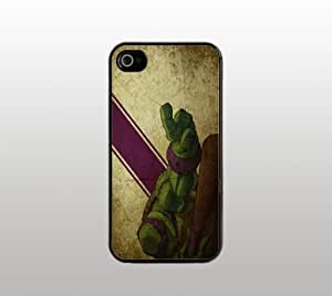 Donatello Teenage Mutant Ninja Turtle Hard Snap-On Case for iPhone 4 4s - Black