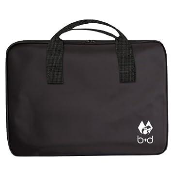 B+D - Pizarra para entrenador de fútbol (con bolsa, 45 x 30 ...