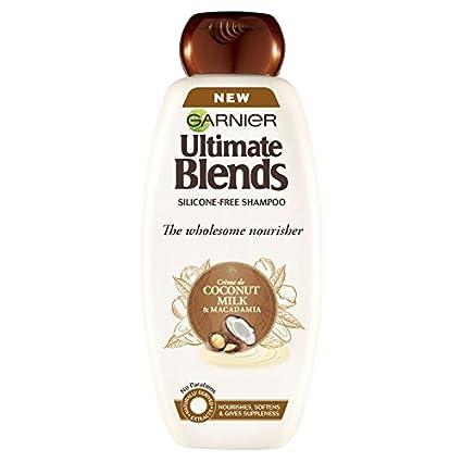 Mascarilla de pelo Garnier Original Remedies de leche de coco, para cabello seco, 400