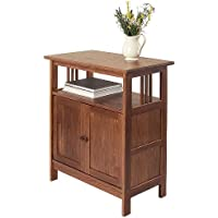 Manchester Wood Mission Console Media Stand - Chestnut