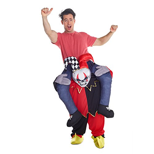 Morphsuit Accessories (Morphsuits Men's Piggyback Costume Adult, Jester, One Size)