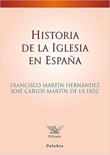 Historia De La Iglesia En Espaᆬa (Pelícano): Amazon.es: Martín Hernández, Francisco, Martín de la Hoz, José Carlos: Libros