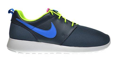 18a7af6d6af1 Nike Roshe Run (GS) Big Kids Shoes Dark Magnet Grey Photo Blue-Volt-White  599728-013 (6 M US) - Buy Online in UAE.