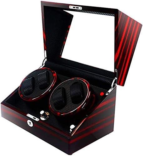 ギフトウォッチワインダーウォッチワインダー、自動巻家庭用超静音4つの+ 0コレクションモーターボックスハイエンド機械式腕時計はBoxs巻