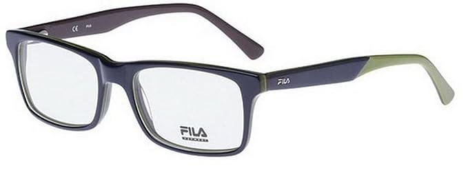 a711a6fc27e Fila Glasses Men VF8906 0T36 Purple Full Frame  Amazon.co.uk  Clothing