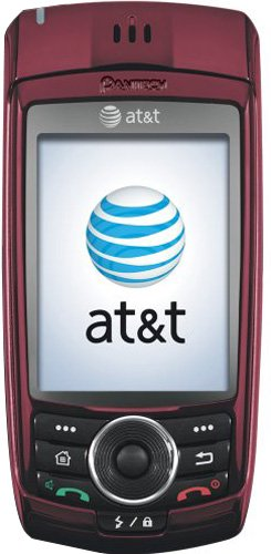 Pantech C810 Duo Phone, Red (AT&T) Cingular Gsm Pda Phone