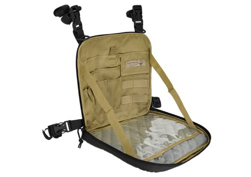 Hazard 4 VentraPack 2-in-1 Molle Chest Pack/Slim Shoulder Bag, Black