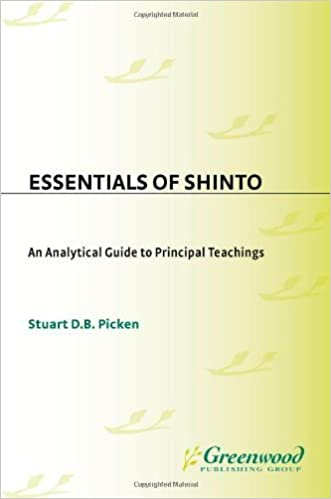 Essentials of Shinto: An Analytical Guide to Principal Teachings (Resources in Asian Philosophy and Religion) by Stuart Picken (1994-11-22)