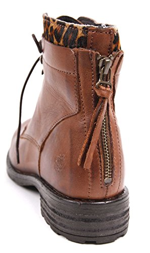 apple of eden Leder Boots Mia braun