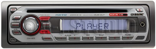Sony CDXM10 Receiver Discontinued Manufacturer