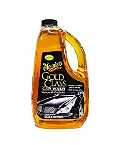 Meguiar's G7164 Gold Class Car Wash Shampoo & Conditioner and Microfiber Cloths Bundle