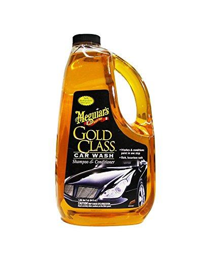 Meguiar's G7164 Gold Class Car Wash Shampoo & Conditioner and Microfiber Cloths Bundle