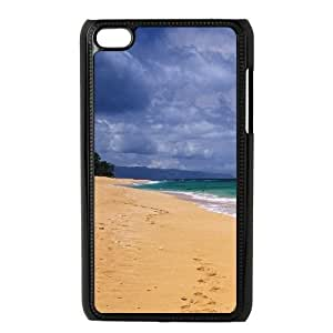 Customized Cover Case for Ipod Touch 4 with Beach style shsu_1938320 at SHSHU