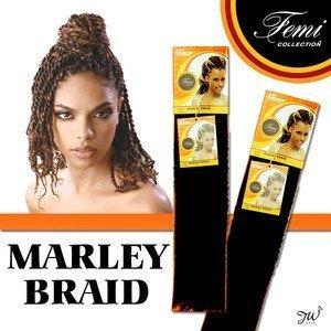 Femi Collection Marley Braid 100% Kanekalon Flame Retardant (#2)
