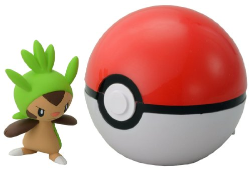 Takaratomy Pokemon Monster Collection B-01 Monster Ball & Chespin