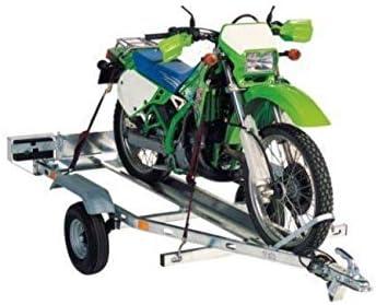 Neptun Remolque para Motos Acero galvanizado - Capacidad 1 Moto Ligera
