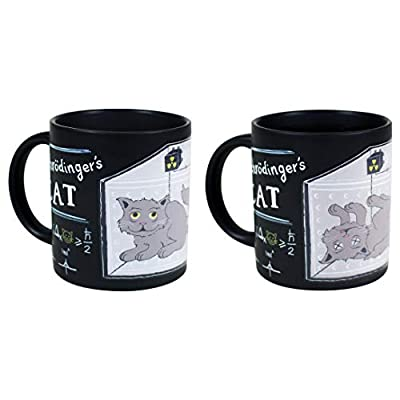 Cat Fan related Products Schrodinger's Cat Heat Changing Mug Set – Add Coffee... [tag]