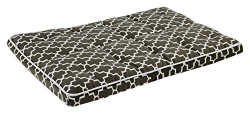 Bowsers Luxury Crate Mattress Dog Bed, X-Large, Graphite Lattice by Bowsers