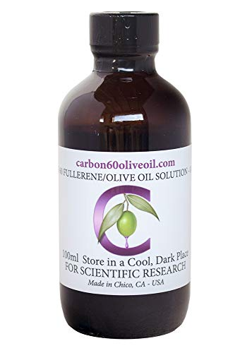 1545 Oil - Research Grade Carbon 60 Olive Oil, 100ml Bottle (with Eyedropper)