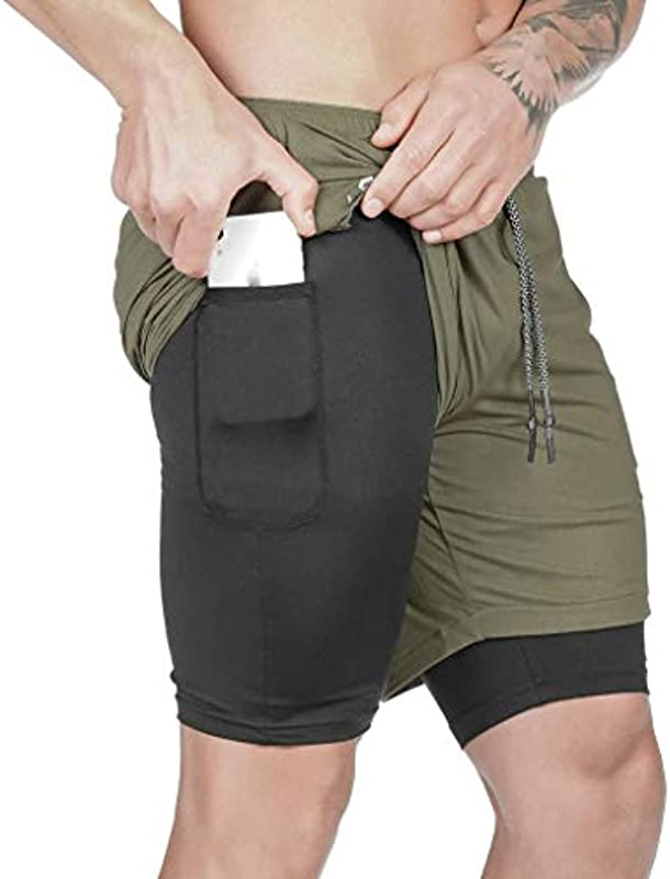 BOLANQ męskie spodenki do fitnessu, krÓj slim fit, jednokolorowe spodenki jeansowe: Odzież