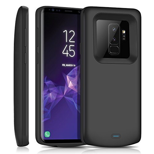Galaxy S9 Plus Battery Case/JUBOTY 5200mAh Protective Portable Charging Case for Samsung Galaxy S9 Plus Power Bank Battery Charger Case(24 Month Warranty)