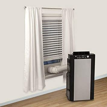 EdgeStar AP14001HS Portable Air Conditioner and Heater with Dehumidifier and Fan for Rooms up to 525 Sq. Ft. with Remote Control