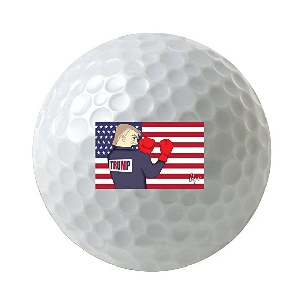 Fighting-With-Trump-2016-3-Pack-Printed-Golf-Balls