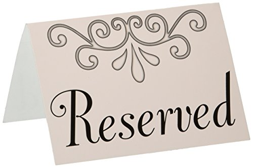 Reserved Table Cards   (4/Pkg) ()