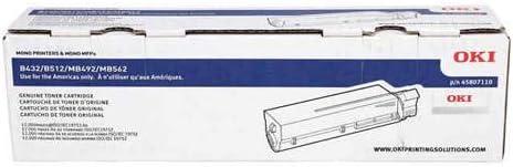 45807110 Genuine 45807110 Original Black Toner Cartridge Extra High Yield