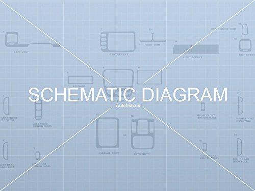 AutoMaxus Flat Dash Kit for Chevrolet Tracker 1999-2002/ Geo Tracker 1999-2000 - Sticker Bomb (Gearhead)