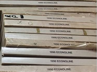 1990 ford econoline van electrical wiring diagrams troubleshooting1990 ford econoline van electrical wiring diagrams troubleshooting manual evtm ford amazon com books