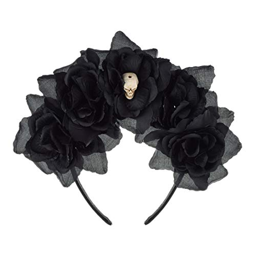 Which are the best day of the dead headband black available in 2020?