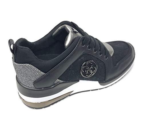 Nero Guess Donna White Sneaker Mod Fl5jarlac12 qWxwP6PFAX