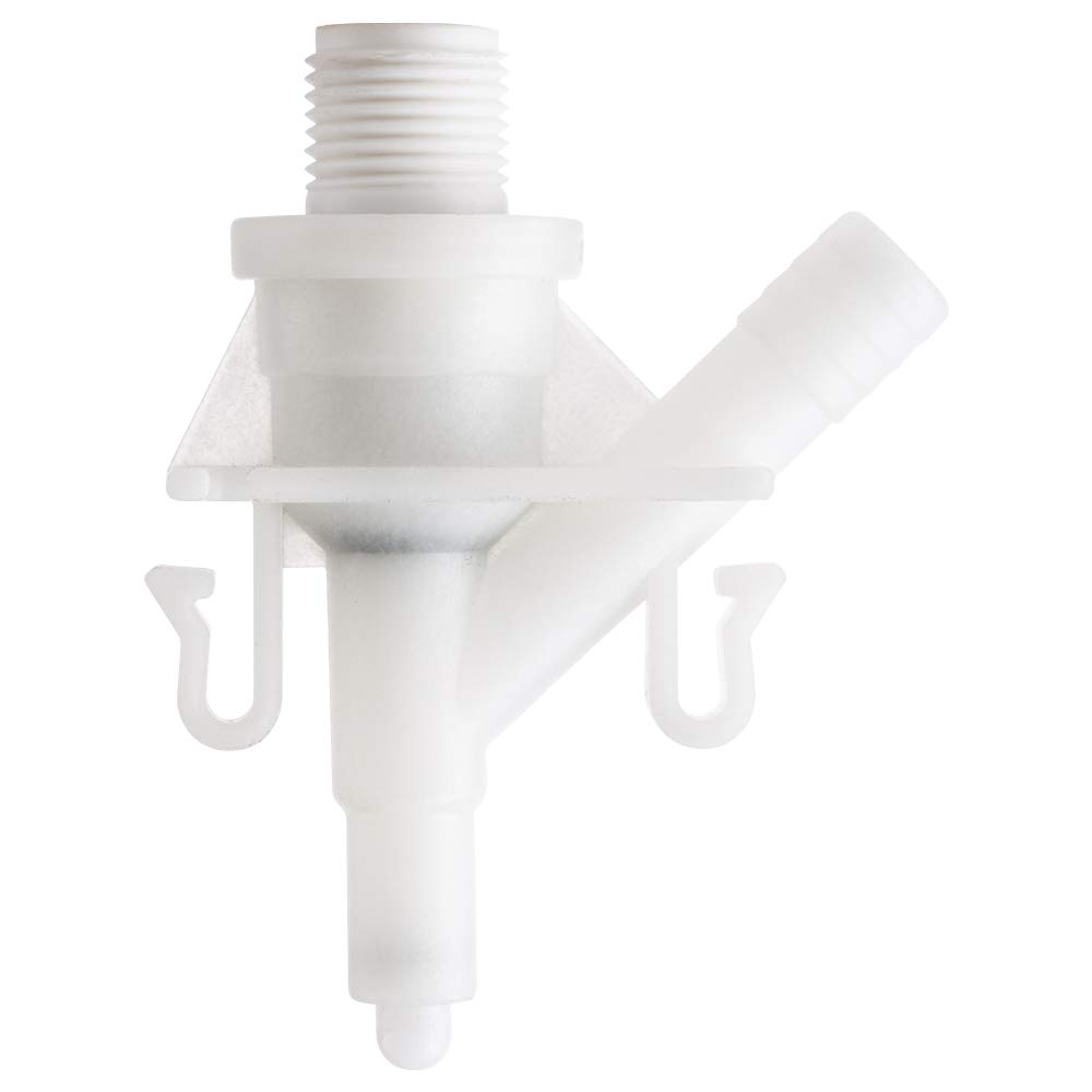 301 310 Sealand//Dometic 300 320 321 Halotronics RV Water Valve Replacement Kit for Pedal-Flush Toilets 311 White