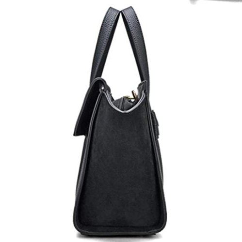 à Bandoulière Womens Main BAILIANG Black Crossbody à Sac Matte Hit Sac Couleur Sac Fashion qwBRIfX