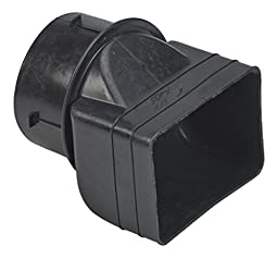 Mutual Industries 0465-0-0 Downspout Adapter, 3\