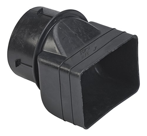 """UPC 096942302005, Mutual Industries 0465-0-0 Downspout Adapter, 3"""" x 4"""" x 4"""""""