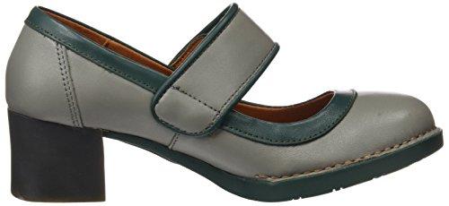 Strap Grey Art Bristol Sandals Women's Humo petroleo Star Ankle qw1t1Fz