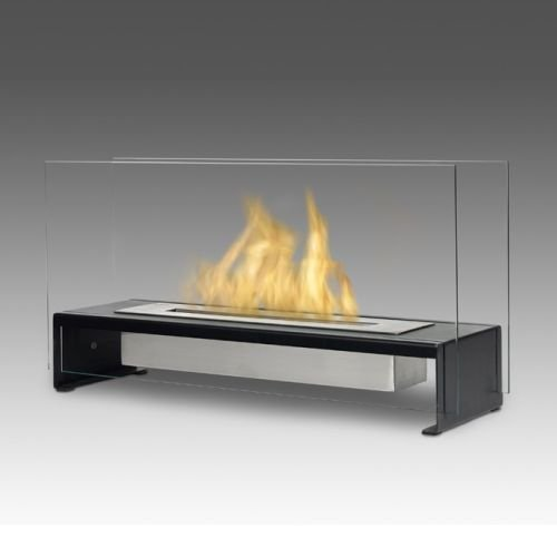 Eco-Feu TT-00177 Rio Decorative Fire Pit Table - Stainless ()